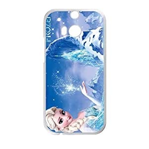 DAZHAHUI Frozen fresh lovely girl Cell Phone Case for HTC One M8