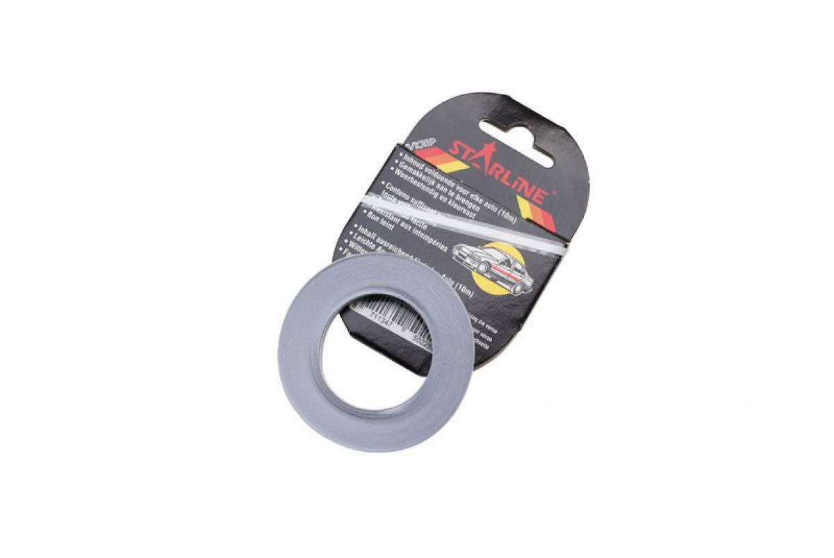 10m Liseret Tuning MOTIP Solidline Blanc 3 mm