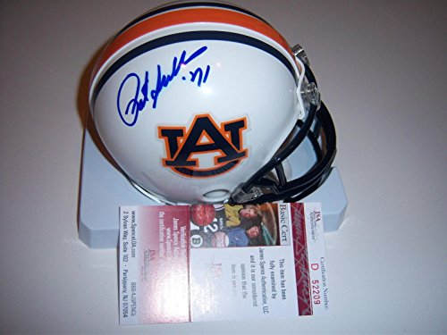 (Signed Sullivan Mini Helmet - Pat heisman coa - JSA Certified - Autographed College Mini Helmets)