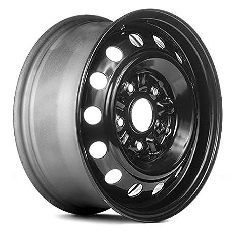 Amazon Com Value 14 Holes Black Factory Steel Wheel Oe Quality