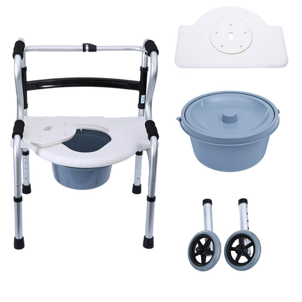 Yxsd andador Multifuncional Plato de baño Redondo + Potty + polea ...