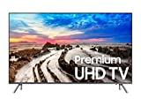 Samsung UN65MU800DFXZA 4K Ultra HD Smart LED TV, Black, 65' (Certified Refurbished)