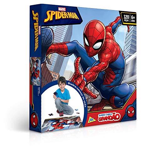 Grandão 120 Peças Spider Man Toyster Brinquedos