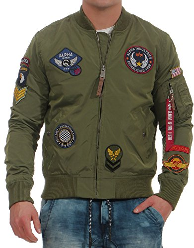Verde Uomo Industries Ma Jacket Patch 1 Alpha Tt 40qw75H7R