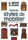 Etude des styles de mobilier par Aussel
