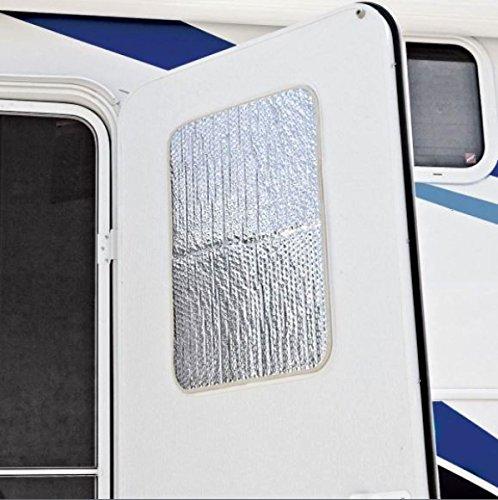 RV Door Window Reflective Cover Motorhome Shade Camper UV