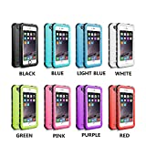 iPhone 5 5S SE Waterproof Case, IP68 Certified Waterproof Shockproof Dirtproof Snowproof Heavy Duty Protective Cover, Full Sealed Case with Built-in Screen Protector for iPhone 5 5S SE
