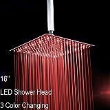 Led Rain Shower Head Fyeer 16