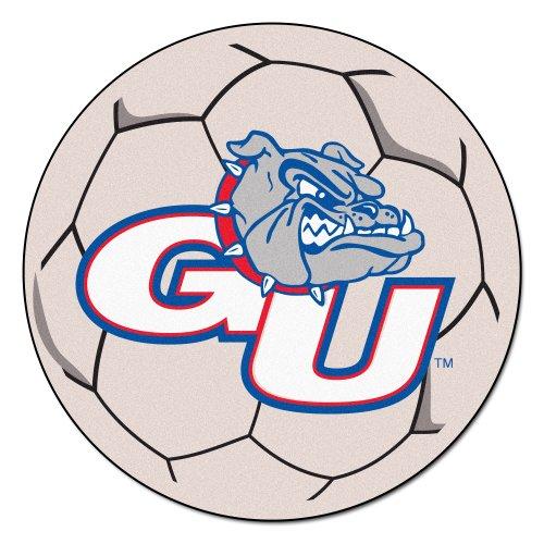 (FANMATS NCAA Gonzaga University Bulldogs Nylon Face Soccer Ball)