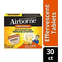 Vitamin C 1000mg - Airborne Zesty Orange...