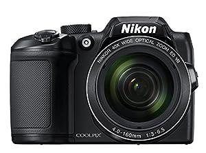 Nikon COOLPIX B500 Digital Camera w/ Sony 16GB Memory Card & Secure Digital Reader USB Accessory Bundle from Nikon