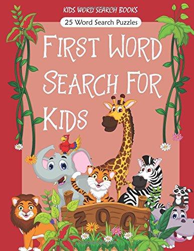 Amazon.com: Kids Word Search Books: First Word Search For Kids ...