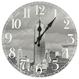 Oriental Furniture CAN-CLK-NY-A Empire State Building Wall Clock Review