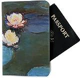 Water Lilies #2 Passport Holder - Fabric