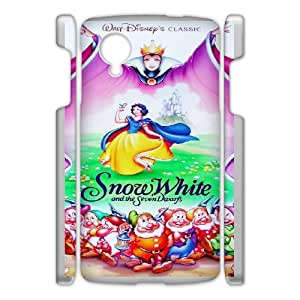 Snow White and Seven Dwarfs for Google Nexus 5 Cell Phone Case & Custom Phone Case Cover R44A652878