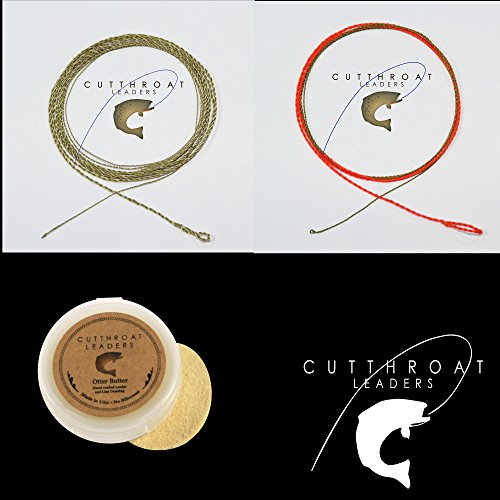 UPC 799206754847, Cutthroat Dry Fly Leader, Hi-Vis Nymph Leader and Paste Floatant