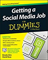 Getting a Social Media Job For Dummies Front Cover