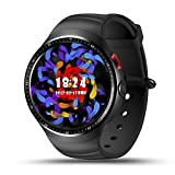 "Smart Watch Phone,LEMFO Android 5.1 OS 3G 1.3"" AMOLED Screen Quad Core CPU GSM + WCDMA Wifi BT4.0 GPS Pedometer Heart Rate Smartwatch for Android 4.4 & iPhone IOS 9.0"