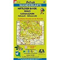 Fritsch Karten, Nr.60, Mittlerer Bayerischer Wald, Böhmerwald (Fritsch Wanderkarten 1:50000, Band 60)