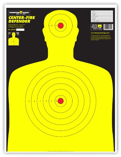 Defender Human Silhouette Shooting Targets