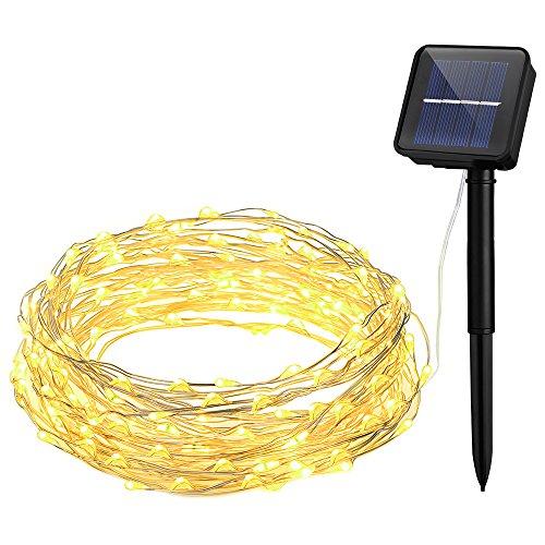 100 Light Solar Led String Lights - 9