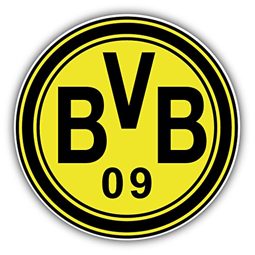 Borussia Dortmund FC Germany Europe Soccer Football Art Decor Vinyl Sticker 5'' X 5''
