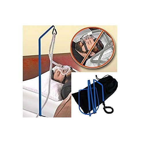 CPAP HOSE Holder Bed Sleep Tangle Proof Tube Oxygen Adjustable Sturdy Must Haves - Cpap Hose Support