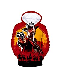 DUHUD Unisex 3D Graphic Print Hoodie and T Shirts