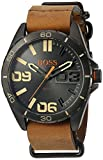 BOSS Orange Men's 1513316 Berlin Analog Display Japanese Quartz Brown Watch