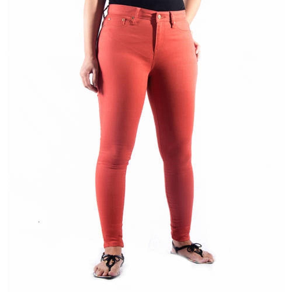 9b9d39dfa020e Faded Glory Women's Classic Denim Jeggings (6, Clay Brick) at Amazon  Women's Clothing store: