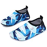 #7: L-RUN Kids Swim Water Shoes Barefoot Aqua Socks Shoes for Beach Pool Surfing Yoga
