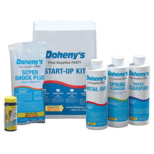Doheny's Start-Up Kit #1 - For Swimming Pools up to 10,000 gallons. - 1 Pint Kit