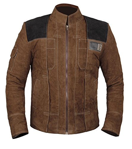 Solo A Star Wars Story Jacket for Men - Han Solo Costume Suede Leather Jackets Mens