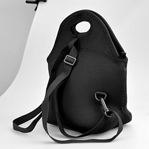 Warm Pouch Girls Adults Lunch Shoulder Bags Women with Tote for Design Abstrat Neoprene Large Bags Teens Cooler Kids amp; Thick Melody Strap Insulated Lunch Warm qBB6ZSwP
