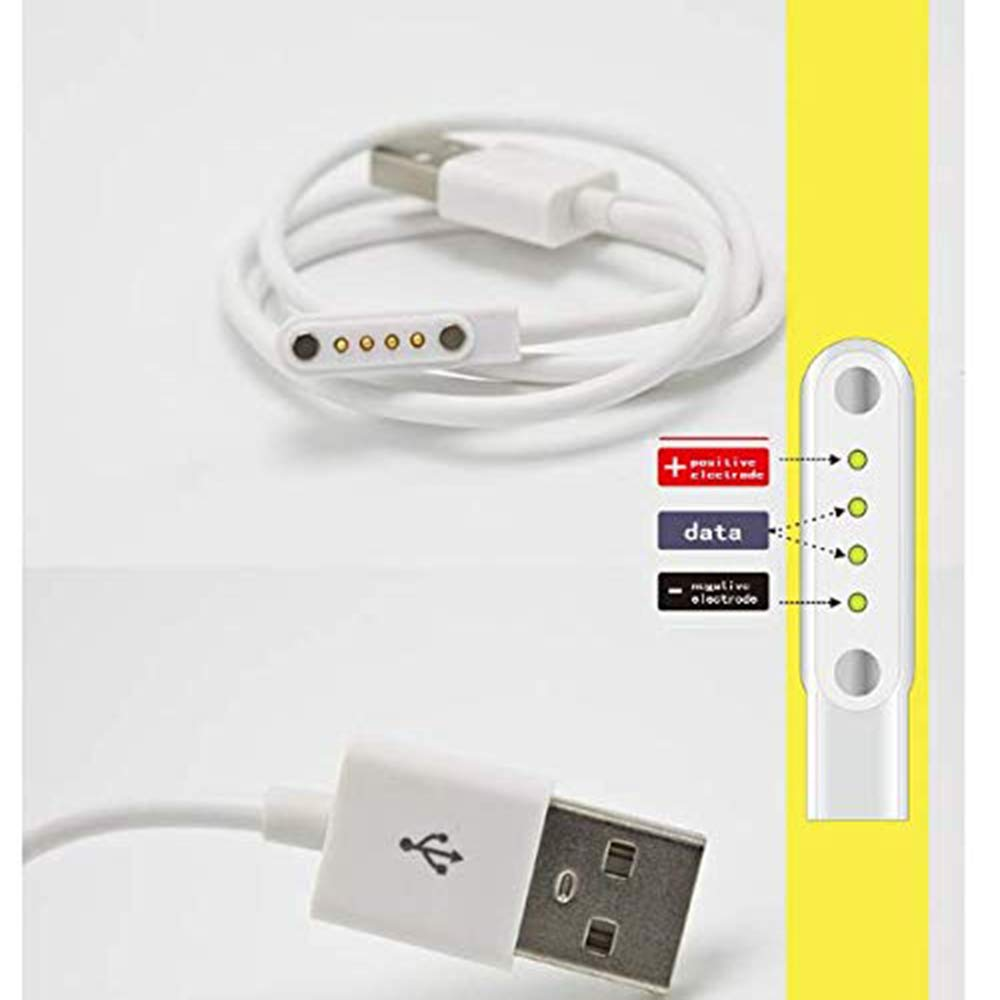 Cable para Smartwatch, GT88, GT68, KW08, Kw18, Kw88, Kw98, Kw99 ...