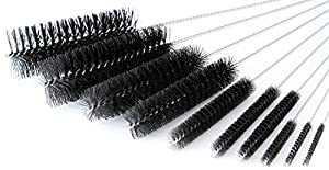 Giveme5 8 Inch Nylon Tube Brush Set - Variety Pack (10 pieces) by Giveme5