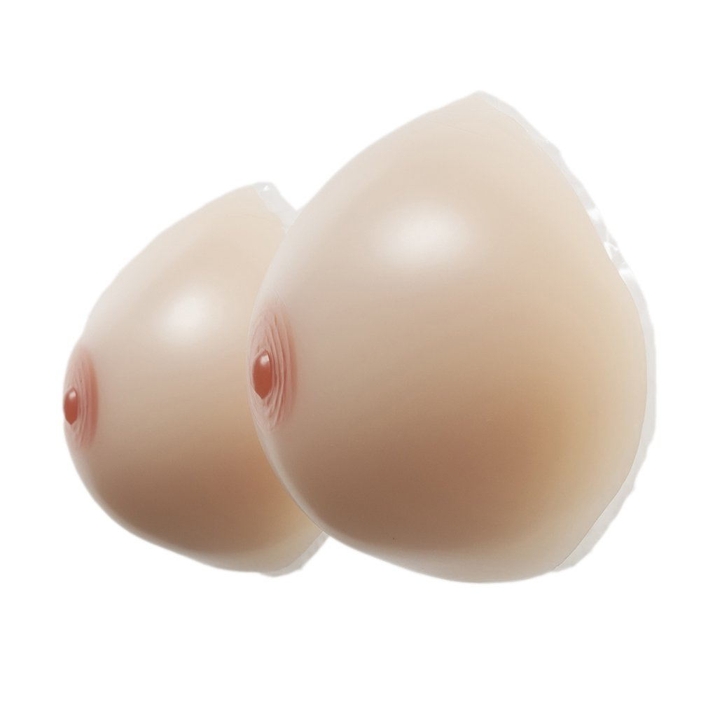 Self-Adhesive Breast Enhancer Boob Prosthesis for Crossdresser Transgender (Cup DD),Nude,Cupdd(1200G) Rosie