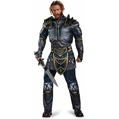Disguise Men's Warcraft Lothar Muscle Costume, Multi, Medium]()