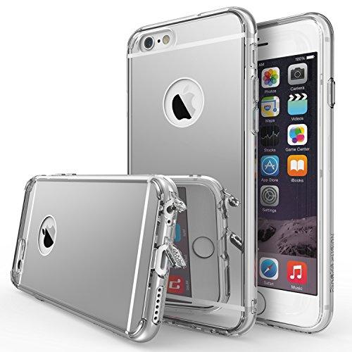 iPhone 6s Plus Case, Ringke [Fusion Mirror] Clear PC Back TPU Bumper...