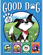 Good Dog 4 Books in 1!: Home Is Where the Heart Is; Raised in a Barn; Herd You Loud and Clear; Fireworks Night