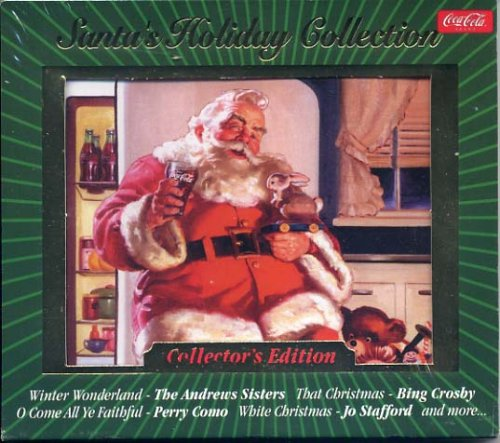 Coca-Cola Presents: SANTA'S HOLIDAY COLLECTION CD Compilation *Collector's Edition* Bing Crosby White Christmas Year