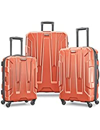Centric 3pc Hardside (20/24/28) Luggage Set, Burnt Orange