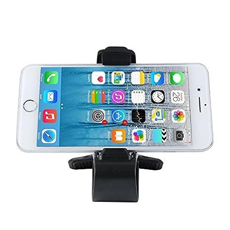 Soporte universal del tenedor del soporte del tablero del coche del GPS del teléfono celular Soporte Cuna del diseño de HUD: Amazon.es: Electrónica