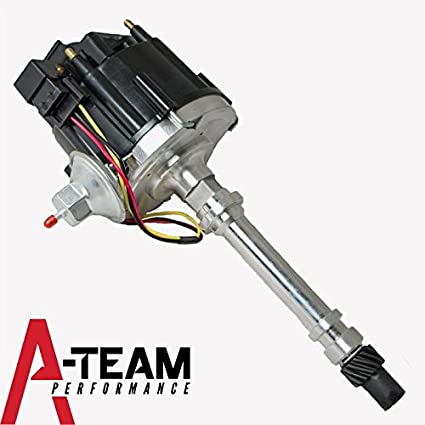 Hei Ignition Wiring Diagram, A Team Performance Hei Distributor Convert To Carburator Hei Upgrade Oem Black Compatible With Chevy, Hei Ignition Wiring Diagram