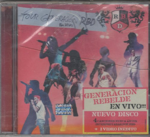Tour Generacion Rbd en Vivo Rb: Rbd: Amazon.es: Música