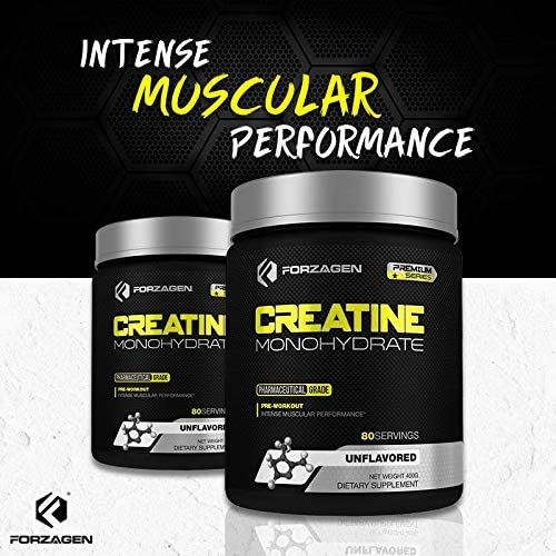 Forzagen Creatine Powder Monohydrate - Workout Supplements No More Pills Capsules Best