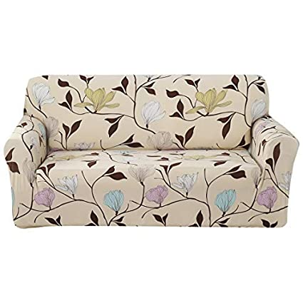 Amazon Com Forcheer Sofa Cover Stretch Pattern Printed 3 Cushion