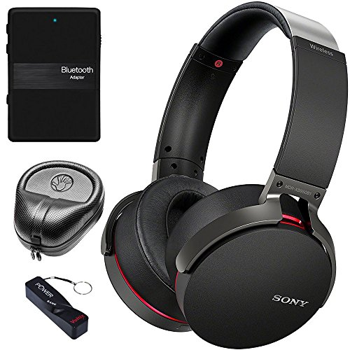 Sony XB950B1 Extra Bass Wireless Headphones with App Control, Black (2017 model)...
