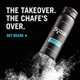 Bozak Cooling Body and Foot Powder for Men – Talc Free, Antifungal, Jock Itch Defense, Deodorant, Stops Chafing, Absorbs Sweat, and Keeps Skin Dry – with Menthol