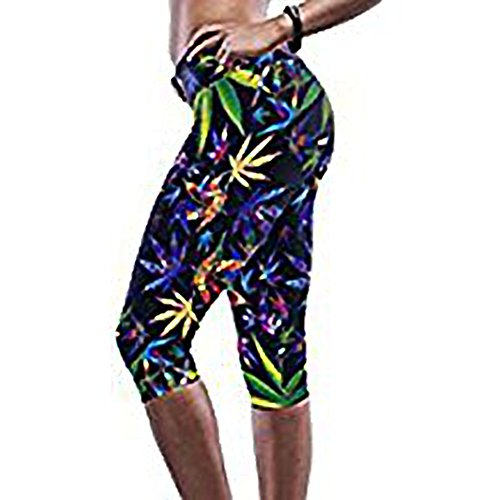 Pertul Ltd. - Legging - Femme multicolore Multicoloured Taille unique